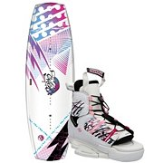 Hyperlite Eden Women's Wakeboard with Ivy Bindings