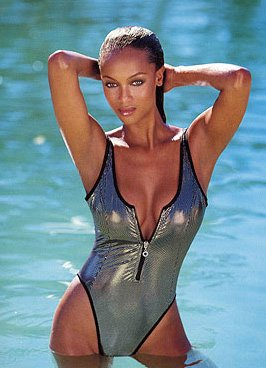 bathing-suit-tyra-banks. If You've Got It, Flaunt It